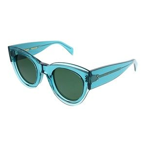 CELINE CL41447/S Cat Eye Petrol Sunglasses